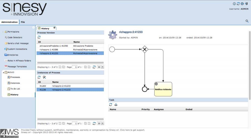 4WS.Platform screen capture